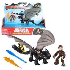 Ohnezahn gelbe Schwanzflosse & Hicks   Action Spiel Set   DreamWorks Dragons