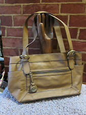 NEW RELIC by FOSSIL CAMEL COLORED SHOULDER BAG  1111
