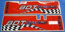 HONDA ATC 250R ATC250R FRONT FORK SHOCK DECAL SET BDT RACING MOTORSPORTS USA NEW