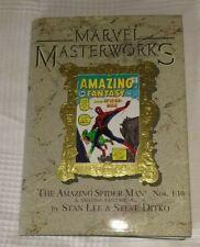 Marvel Masterworks The Amazing Spiderman VF- condition