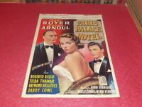 Cinema Plakat Original Belgisches - Paris Palace Hotel - .Association Boyer