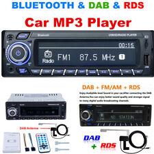 DAB 1-DIN Car Audio Stereo In-Dash Aux Input RDS AM/FM MP3 Multimedia Receiver