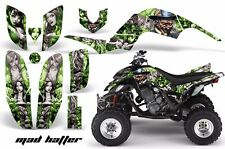 ATV Decal Graphic Kit Quad Sticker Wrap For Yamaha Raptor 660 2001-2005 MAD S G