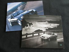 2000 Mercedes SLK-class 230 Brochure & Limited Edition SLK230 R170 Catalog Set