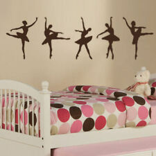 Ballerinas Wall Decal Vinyl Art Set of 5- Walls Bedroom