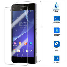 Front and Back 9H Tempered Glass LCD Screen Protector Film for Sony Xperia Z3