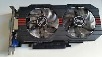 Original ASUS GeForce GTX750TI 2GB GTX 750 Ti GTX750TI-OC-2GD5 Graphics Card