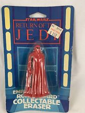 STAR WARS Return of the Jedi Vintage  EMPERORS ROYAL GUARD Eraser  MOC