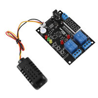 DC5V~24V Digital Display Temperature & Humidity Control Board Module Relay