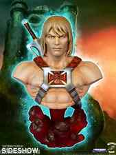 MOTU Masters of the Universe He-Man Collectible Bust Tweeterhead Sideshow RARE