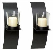 Wall Sconces For Candles Tealight Sconce Mounted Candle Holders Iron Holder Set
