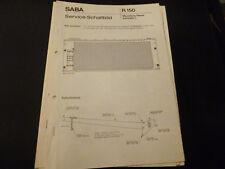 Original Service Manual SABA Meersburg Stereo automatic L