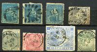 BARBADOS: (19225) numeral etc Parish postmarks/QV cancels