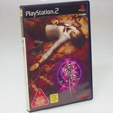 FATAL FRAME Project Zero PS2 Sony Japan Import PlayStation 2 NTSC-J Non-Manual