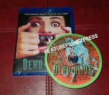 Dead Alive 1992 Blu-ray Movie Uncut Region-Free MOD Import Peter Jackson New