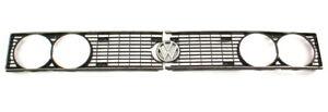 Grill Grille Headlight Trim 78-81 VW Scirocco MK1 - Genuine -