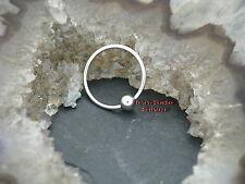 Micro Ball Closure Ring Piercing INTIMPIERCING Ohrring Brust Septum Lippe Nase