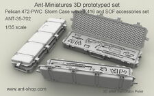 ANT Miniatures 1/35 Pelican 472-PWC Storm Cases with HK416 & SOF Accessories Set