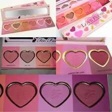 2016 Too Face Makeup 6 Colors Blushers Cosmetic Love Flush Blush Powder Palette