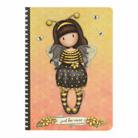 Taccuino con Cover Din a 5 - Santoro Gorjuss - Bee-Loved (Just Bee-Cause)