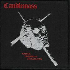 CANDLEMASS-EPICUS DOOMICUS METALLICUS-WOVEN PATCH-DOOM METAL