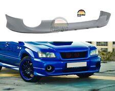 Aero Lip for Subaru Forester SG 2003-2005 Bumper Splitter diffuser Bodykit skirt