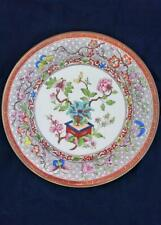 Royal Worcester Porcelain Plate Indian Tree or Bowpot Pattern Dated 1909 Antique