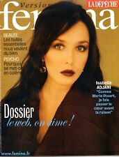 Magazine FEMINA 2006: ISABELLE ADJANI !!! LILY ALLEN_ELTON JOHN