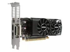 MSI NVIDIA GeForce GTX 1050 TI 4GB GDDR5 DVI/HDMI/DisplayPort Low Profile pci-e