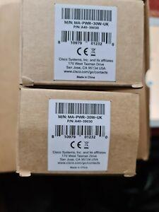 Cisco MA-PWR-30W-UK AC Adapter DC Power Supply for Meraki MR32