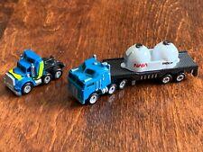 NASA Tractor Trailer plus Semi Truck Micro Machines Lot of 2