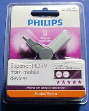 Philips Micro Connector - Mobile Devices To  HDMI - Brand New! Free Shipping!