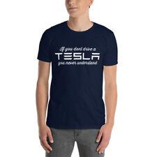 Tesla gift. If you do not drive Tesla, you never understand. Model S 3 X T-Shirt