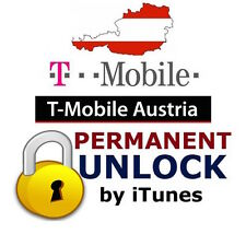 T-mobile Austria iphone unlock factory officiel déblocage Autriche désimlockage