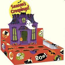 Haunted House Halloween cupcake box carrier display school home office bakery
