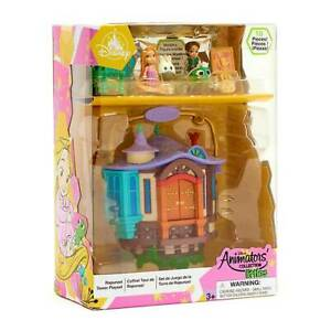 Disney 2021 Animators Collection Littles Rapunzel Tower Playset - Tangled