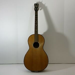 """Regal Tenor Acoustic Guitar, Brown, No Strings 32"""" Long"""