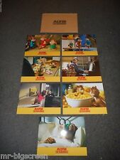 ALVIN AND THE CHIPMUNKS - ORIGINAL SET OF 7 FRENCH LOBBY CARDS - 2007