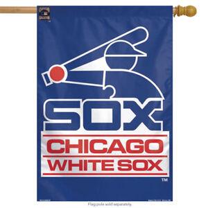 """Chicago White Sox Vertical House Flag MLB Baseball Licensed 28"""" x 40"""""""
