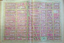 1891 E. ROBINSON MURRAY HILL MADISON SQUARE GARDEN MANHATTAN ORIG MAP ATLAS