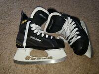 Bauer Supreme S140 Hockey Ice Skates Size 3R