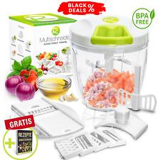 Zwiebelschneider Premium & viel Zubehör Zerkleinerer für Gemüse, Obst, Nüsse uvm