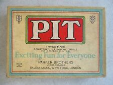 VINTAGE 1919 PIT CARD GAME IN BOX PARKER BROTHERS
