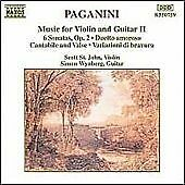 Paganini: Music for Violin and Guitar, Vol.2, , Very Good CD