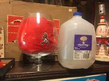 "Johnnie Walker BRANDY Cognac Snifter Sniffer Glass VASE CANDY JAR FISH BOWL 9"""