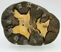 Septarian Nodule Stone Clock