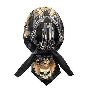 Desperado Western Bandanna Biker Doo Do Rag Head wrap Skull cap Capsmith Du Rag