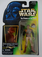 1996 Star Wars POTF Lando Calrissian as Skiff Guard Force Pike Action Figure