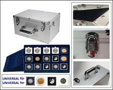 Look 1273-1187-15 Aluminium Valise de Monnaies Gigant 15 Tableaus 50 mm pour 225