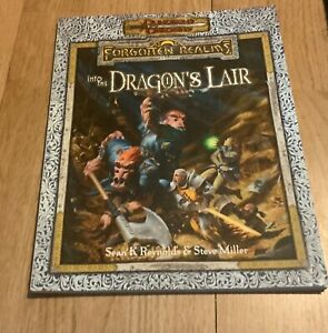 AD&D Forgotten Realms INTO THE DRAGON'S LAIR #11634 - Dms copy